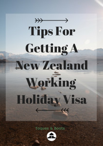 Tips For Getting A New Zealand Working Holiday Visa