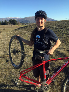 Our mountain biking accident in Wanaka New Zealand