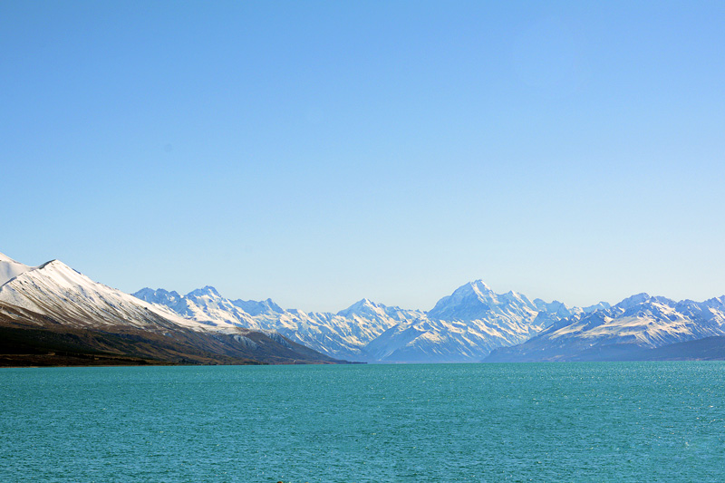 Lake Pukaki South Island New Zealand