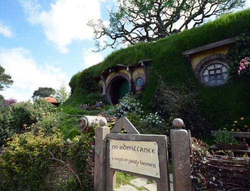 Authentic Living: Visiting Hobbiton