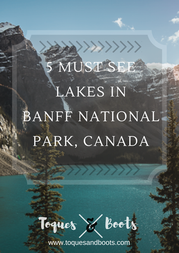 5 must see lakes in banff national park