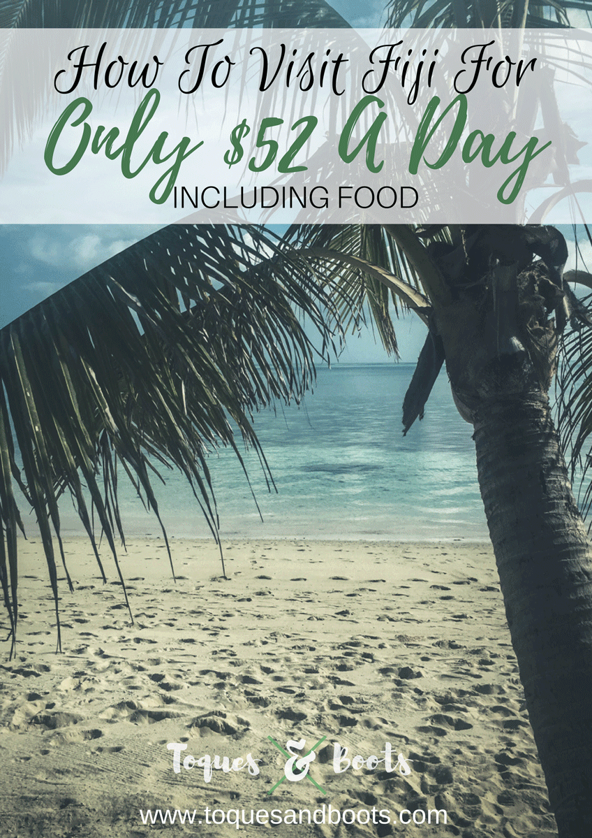 Island travel can get expensive. But doesn't have to be. Here's how we traveled Fiji for only $52 a day!