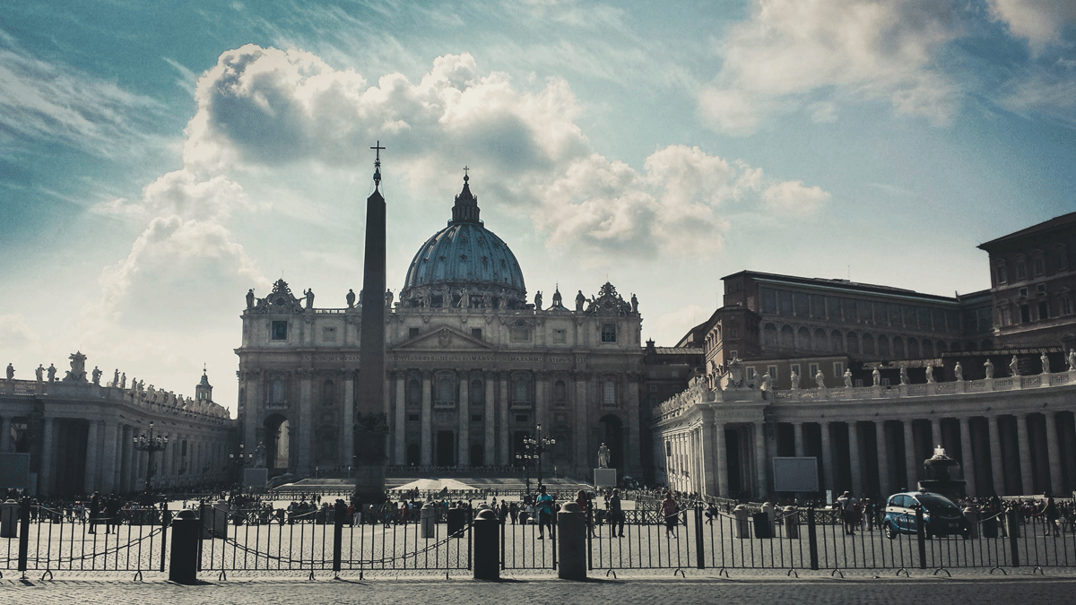 St. Peter's Basilica Rome Italy