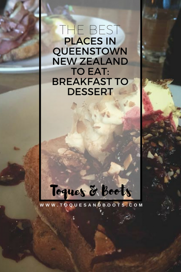 Queenstown New Zealand has something for everyone, including a variety of delicious food. With so many different things to do in Queenstown, you're going to need to fuel yourself, plus who doesn't love to eat? This list of the best places to eat in Queenstown has you covered from sunrise to sundown.