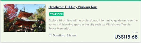 hiroshima walking tour - cherry blossoms in japan
